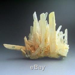 1.2LBS Quartz Crystal Cluster with Hematite, China-q1006
