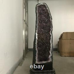 106LB 37 Natural Huge amethyst Cluster Quartz Crystal mineral Specimen Point