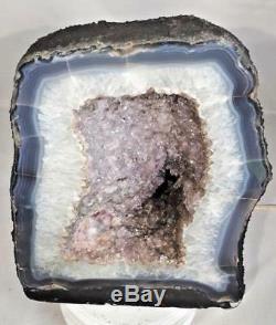 11 Amethyst Cathedral Geode Crystal Quartz Natural Cluster Specimen Brazil