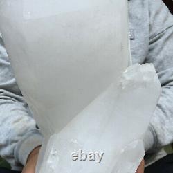 11750g Huge Natural White Quartz Crystal Cluster Rough Healing Specimen