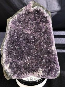12 Amethyst Cathedral Geode Crystal Quartz Natural Cluster Specimen Brazil