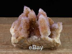 12cm SPIRIT QUARTZ Crystal Cluster Citrine Amethyst Druzy Cactus Stone 28387