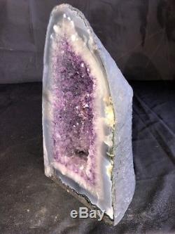 14 Amethyst Geode Quartz Crystal Cluster Cathedral Specimen Brazil