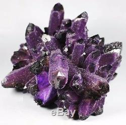 1400g RARE! New Find Natural Beatiful Amethyst Quartz Crystal Cluster Specimen