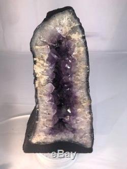 15 Amethyst Cathedral Geode Crystal Quartz Natural Cluster Specimen Brazil