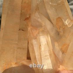 1578g Large Natural White Quartz Crystal Cluster Rough Specimen Healing