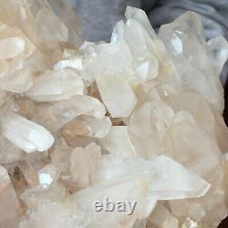 1797g Large Natural Clear White Quartz Crystal Cluster Rough Healing Specimen