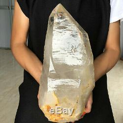 17LB Natural Crystal Cluster Mineral Specimen Quartz Crystal C955