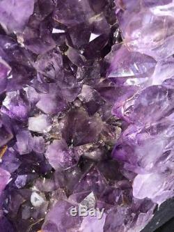 18 Cathedral Amethyst Geode Quartz Crystal Cluster Specimen Brazil