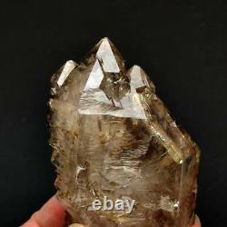 187g Natural skeletal Elestial Quartz Crystal Cluster Mineral Specimen D0001
