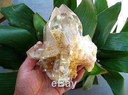 1945g RARE NATURAL White phantom quartz crystal cluster Point Specimens