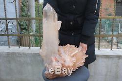19600g(43.2lb) Natural Beautiful Clear Quartz Crystal Cluster Tibetan Specimen