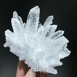 2.15LB New Find Clear White Quartz Crystal Cluster Vug Mineral Specimen Healing