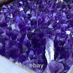 2.2LB Natural Amethyst Quartz Cluster Crystal Wand Point Specimen Healing