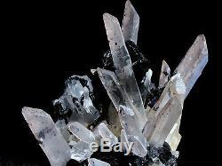 2.75in Black Hematite & Quartz Cluster Mineral Display Specimen