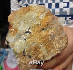2.83LB Beautifu Rainbow Citrine QUARTZ Cluster Crystal Wand Point Specimen