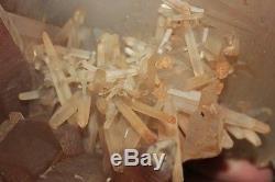 21.09lb Rare Natural New find Red Quartz Crystal Cluster Specimen Reiki Wicca