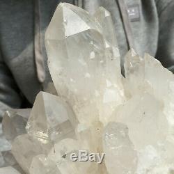 2152g Superior Natural Clear White Quartz Crystal Cluster Rough Healing Specimen