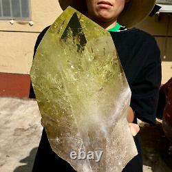 21LB Natural Citrine cluster mineral specimen quartz crystal healingDL170