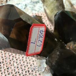 22.17LB Natural smoky citrine quartz cluster crystal specimen healing L6284