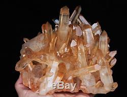 2210g New Find Clear Natural Pink QUARTZ Crystal Cluster Original Specimen