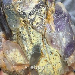 2330g Large Natural Amethyst Quartz Crystal Cluster Rough Healing Specimen