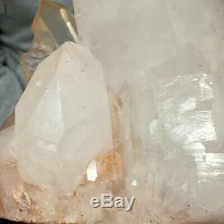 2490g Superior Large Natural White Quartz Crystal Cluster Rough Healing Specimen