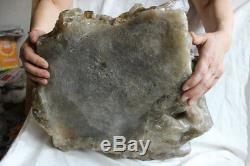 26kg Huge Raw Natural Smoke Citrine Quartz Crystal Cluster Points Rock Specimen
