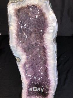 27 Cathedral Amethyst Geode Quartz Crystal Cluster Specimen Brazil