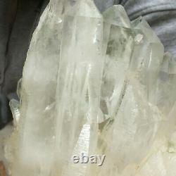 2735g Large Natural Clear White Quartz Crystal Cluster Rough Healing Specimen