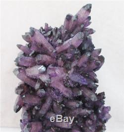 2764g purple Amethyst PHANTOM crystal quartz crystal cluster Tibetan Healing