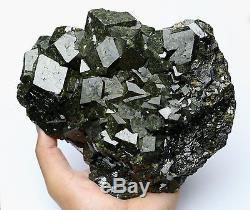 2953g Natural Andradite Garnet Crystal Cluster Quartz Inner Mongolia /China