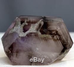 3.09 Rare Shape Elestial Smoky Amethyst Crystal Cluster Skeletal Quartz, Ame44