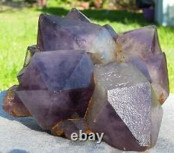 3.2 LB A+ Natural Amethyst Quartz Cluster Crystal Specimen Healing