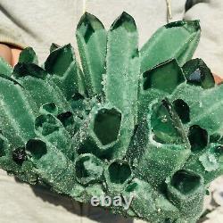 3030g Large Green Quartz Crystal Cluster Healing Mineral Specimen