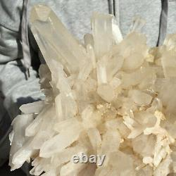 3060g Large Natural Clear White Quartz Crystal Cluster Rough Healing Specimen
