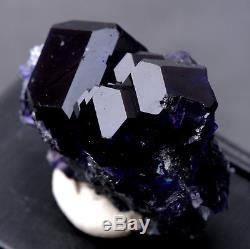 31g NATURAL Purple. Blue FLUORITE Quartz Crystal Cluster Mineral Specimen