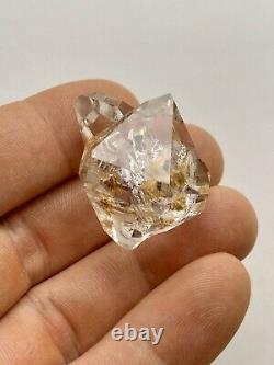 32mm Herkimer Diamond Quartz Crystal Cluster 5pc, Golden Healer, Clear & Radiant