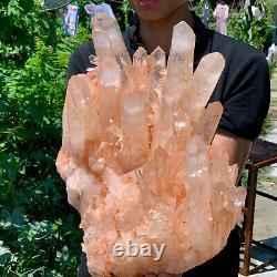 33.5LB A+++Large Himalayan high-grade quartz clusters / mineralsls