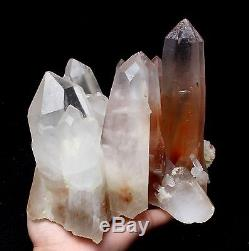 3367g A+ Rare Natural New find Red Quartz Crystal Cluster Specimen Reiki Wicca
