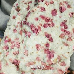 3640g Huge Natural Pink Tourmaline Crystal Cluster Rough Healing Specimen