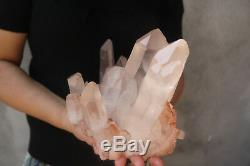 3840g Natural Beautiful Clear Quartz Crystal Cluster Tibetan Specimen B265