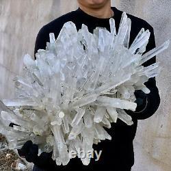 39.8LB A+++Large Himalayan high-grade quartz clusters / mineralsls