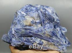4.51lbBeautiful Natural Blue Quartz Crystal Cluster kyanite Gem Mineral Specimen