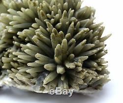 4.6LB New Find Green QUARTZ Crystal Cluster Specimen/China Inner Mongolia