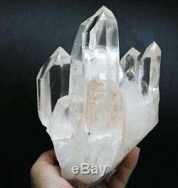 4.76lb Original Clear White Obelisk Quartz Crystal Cluster wand point Specimen