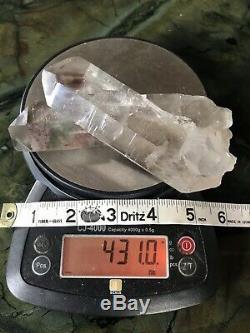 431g Rare Inclusion Quartz Scenic Quartz Crystal Natural Quartz Cluster Brazil
