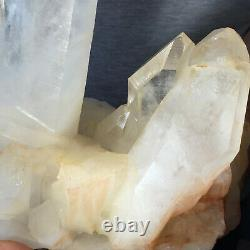 4436g Large Natural Clear White Quartz Crystal Cluster Rough Healing Specimen