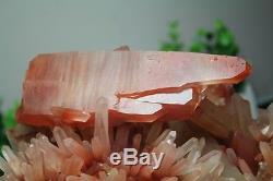 4615g A+ Rare Natural New find Red Quartz Crystal Cluster Specimen Reiki Wicca