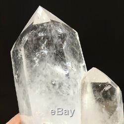 5.99lb Superior Large Natural White Quartz Crystal Cluster Healing Specimen g64